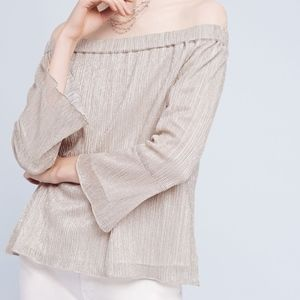 Waverly Grey Anthropologie Off Shoulder Top XS